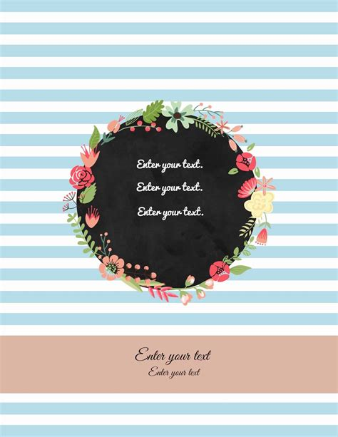 Free Binder Cover Templates Customize Online Print At Home Free Binder Cover Templates