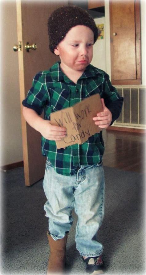 diy homeless boy halloween costume costumery pinterest