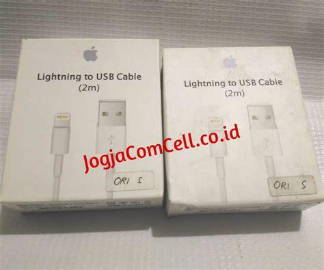 Kabel Data Usb Lenovo Ori kabel data iphone 5 dan 6 lightning usb ori s 2m