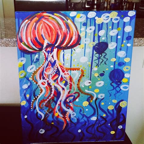 paint with a twist ta fl my jellyfish from today s class july 13th 2014 yelp