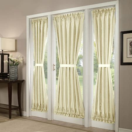 curtains for french windows french door curtains enhancing plain doors