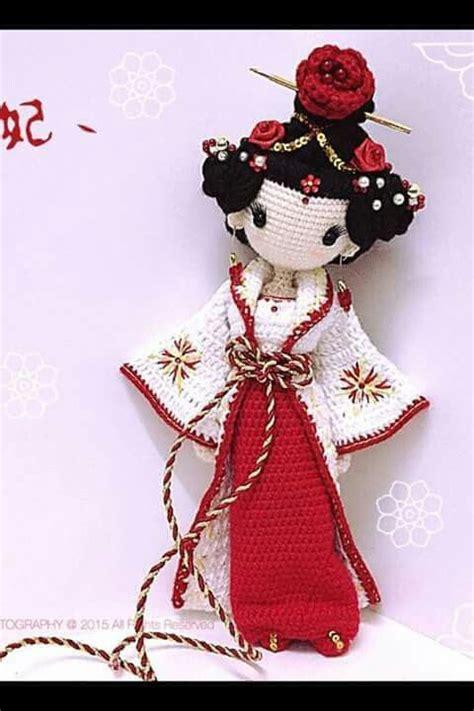 Amigurumi Geisha Pattern | amigurumi geisha 4u hilariafina http www pinterest com