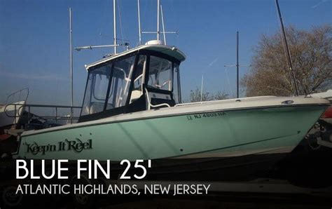 freshwater fishing boats for sale nj canceled blue fin pro fish 250 boat in atlantic highlands