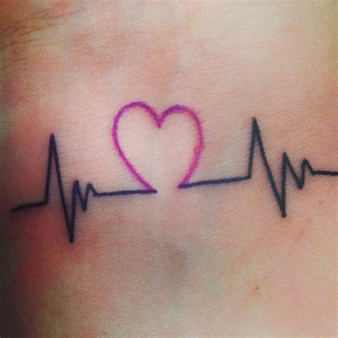 ekg tattoo meaning 10 wrist ideas