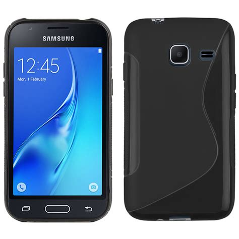 Hardcase Karakter Samsung Galaxy J1 Mini s line flexi gel samsung galaxy j1 mini black