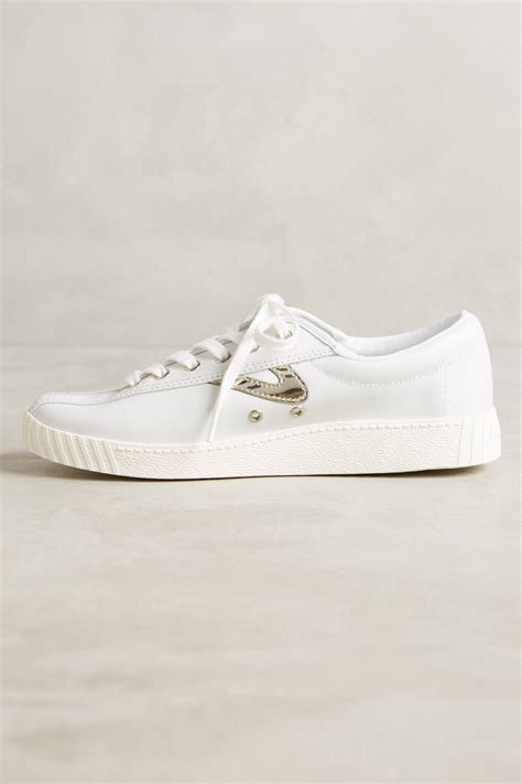 tretorn leather sneakers tretorn leather sneakers anthropologie