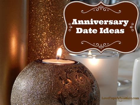 Wedding Anniversary Date Ideas anniversary date ideas adventure marriage