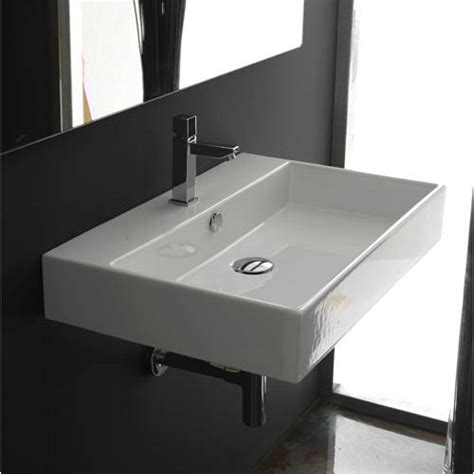 countertop bathroom sink unlimited 60 white wall mount or countertop bathroom sink