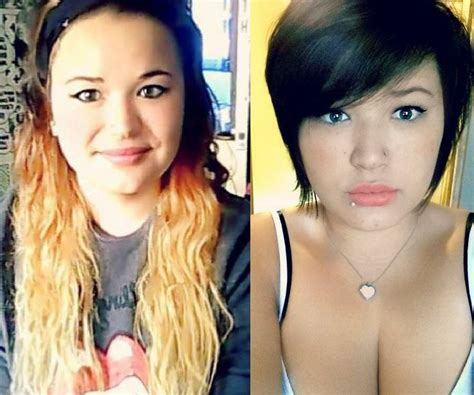 short hair for plus size before and after 20 photos avant apr 232 s coupe cheveux coiffure simple et