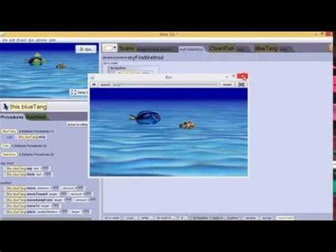 tutorial cara berenang tutorial alice 3 cara membuat animasi ikan youtube