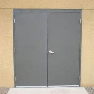 Commercial Exterior Steel Doors Commercial Steel Doors Hollow Metal Door Pair