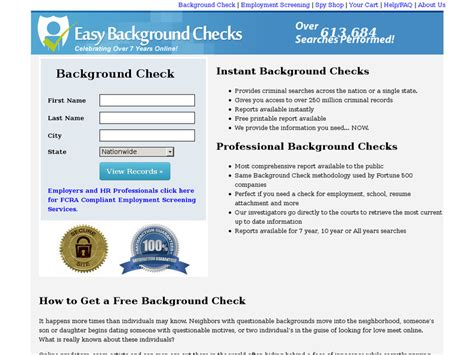 How To Do A Records Search Information About Easybackgroundchecks Background