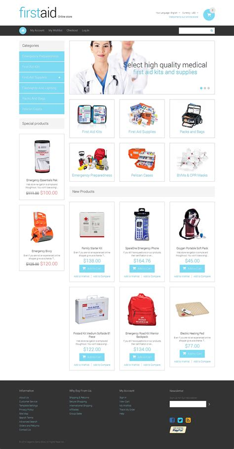 magento responsive templates excellent magento themes