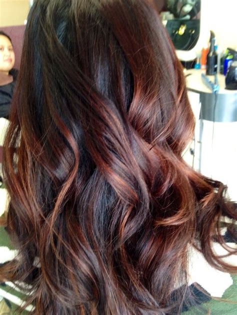 hair color by state best 25 mahogany highlights ideas on pinterest mahogany