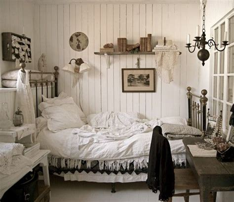 black and white shabby chic bedroom the 34 best images about brocante bedroom on pinterest
