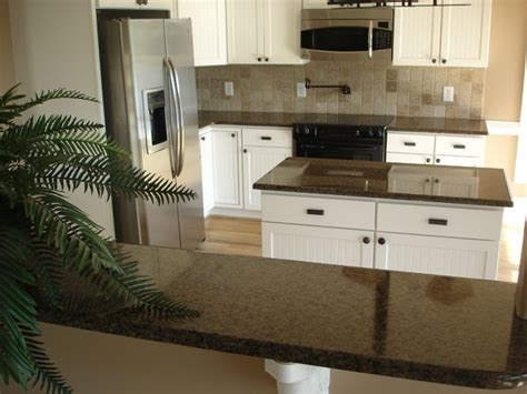 Brown Countertops White Cabinets by Kitchens With White Cabinets Traditional Kitchen