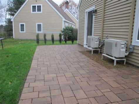 techo bloc permeable paver patio paver ideas