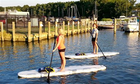 baltimore boating center stand up paddleboarding baltimore boating center groupon