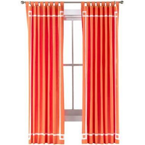 jonathan adler curtains happy chic by jonathan adler katie canvas curtain panel i
