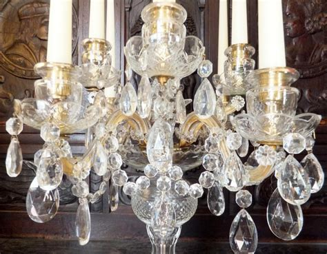 barock luster gold candelabra candle holder chandelier murano