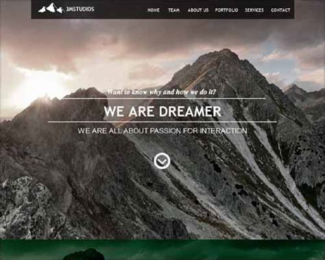 free muse templates free and premium responsive adobe muse templates