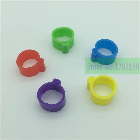 Ring 1cm Tebal 200 pcs chicken rings poultry foot ring 1 8cm diameter pheasant duck bird poultry management