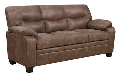 printed loveseat u880028 mocha printed fabric sofa by global furniture