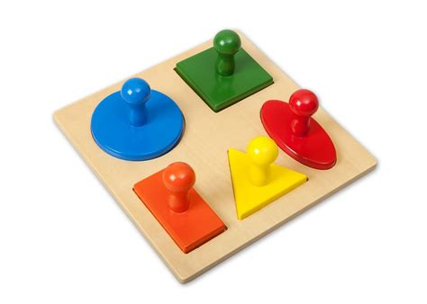 montessori 5 shapes puzzle