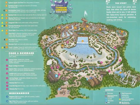 typhoon lagoon map 3 days 2 accommodation package for 5