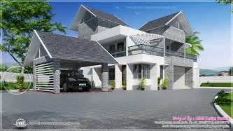Arts And Crafts Floor Plans Modern House Sloping Roof Flat Roof House Modern House