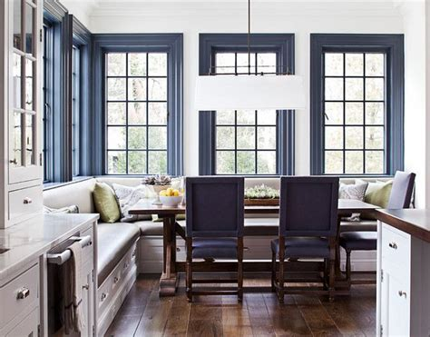 new trend bold trim blue door living