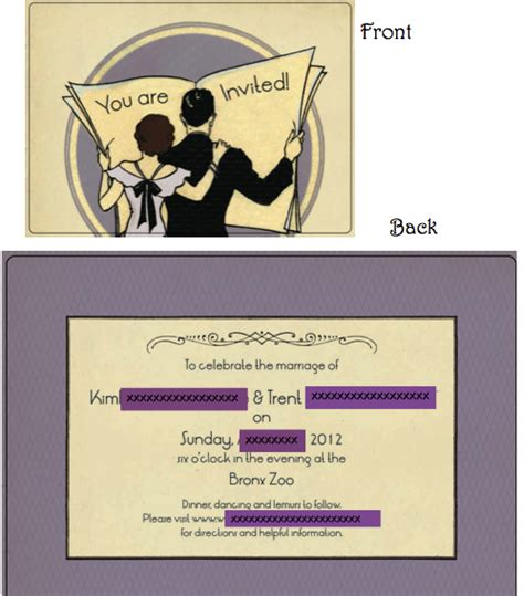 wedding attire invitation help how do i let my guests what to wear invite