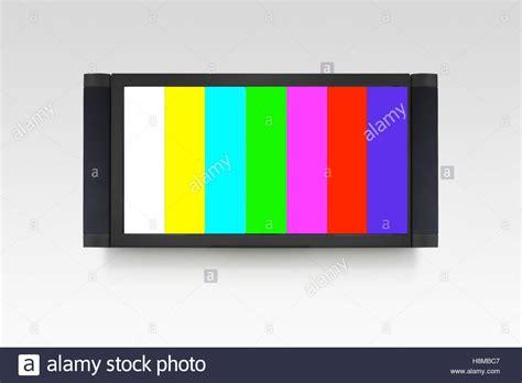 color tv broadcast broadcast television colour tv set stock photos