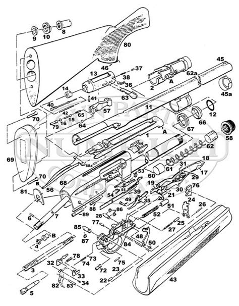 remington 870 diagram remington 1100 parts diagram remington gun parts elsavadorla