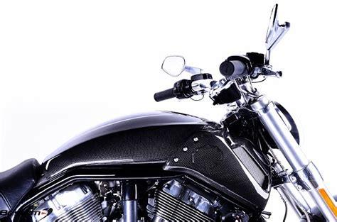 harley davidson vrscf  rod muscle carbon fiber rear tank cover