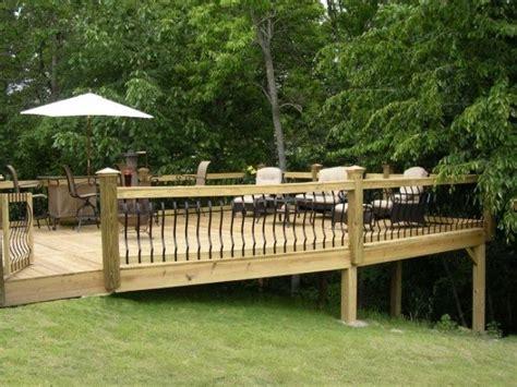 sloped backyard deck ideas 158 best images about decks on pinterest decks