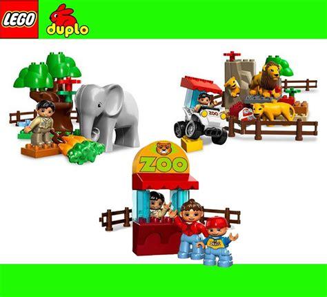 Brenda Set 3in1 lego duplo 3in1 zoo polargehege zirkus lok zug 3 in 1 5634