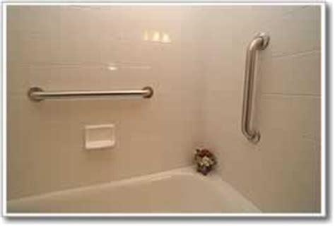 Shower Bar Placement by Grab Bars