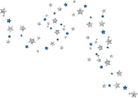 silver confetti vector eps10 overlay transparent stock glitter stars clipart collection