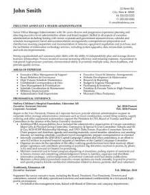 Resume Exle For An Administrative Assistant Office Manager Senior Office Manager Resume Template Premium Resume Sles Exle