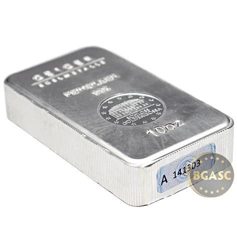 10 Oz Silver Bar - buy 10 oz silver bars geiger security line 999