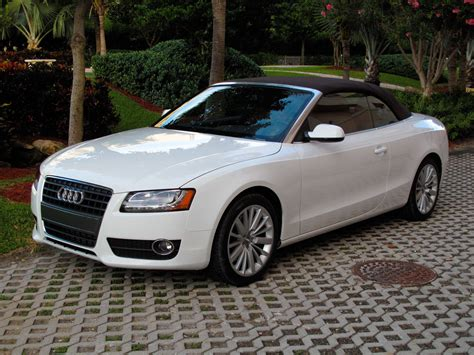 convertible audi white 2010 audi a5 cabriolet picture 347459 car review top