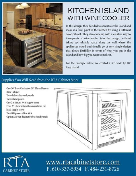 cheap rta kitchen island find rta kitchen island deals on the o jays wine coolers and for the on pinterest