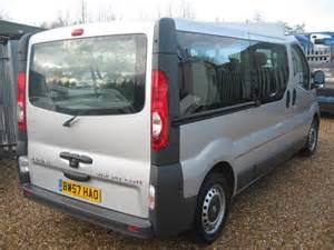 Vauxhall Vivaro 9 Seater For Sale Vauxhall Vivaro Lwb 9 Seater Minibus Carrier