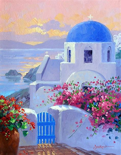 paint with a twist greece let s go to greece mikki senkarik