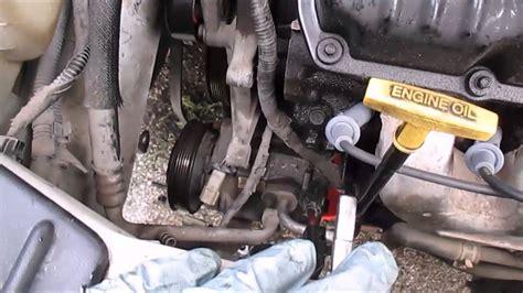 replace  ac compressor dodge caravan part