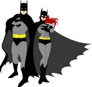 batman and batgirl clipart clipartsgram com