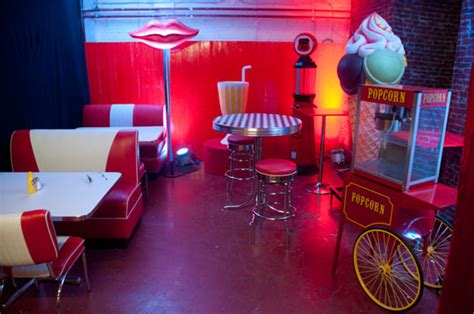 1950s themed events uk prop me up