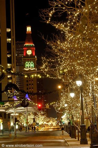 photo of downtown denver christmas lights 2 scott l