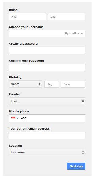 cara membuat email baru rocketmail cara membuat email baru di gmail kang bedol